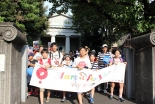 「中絶やめよう」「小さないのちを守ろう」 マーチ・フォー・ライフ、市民ら250人が参加