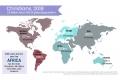 大陸別クリスチャン人口、アフリカが南米上回り1位に