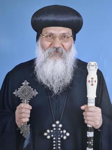 遺体で見つかった聖マカリオス修道院の修道院長を務めるアンバ・エピファニウス主教