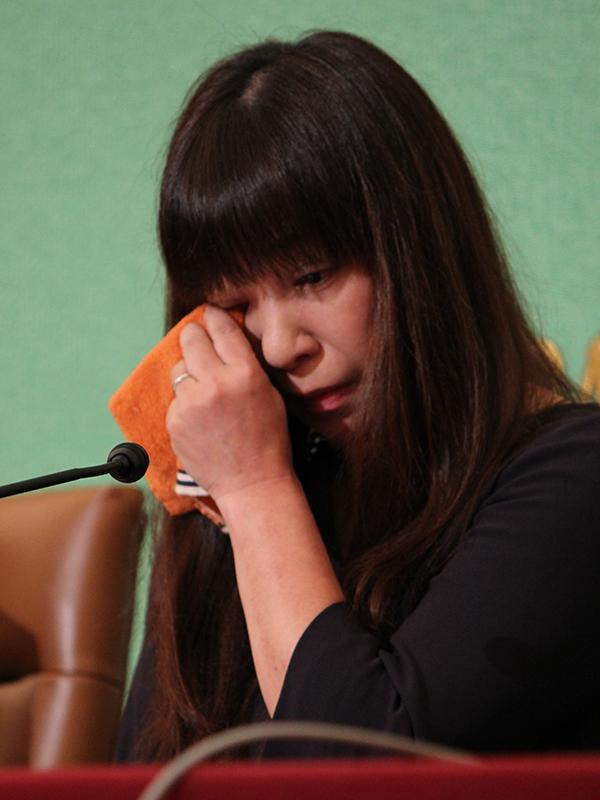 シリアで拘束の安田純平さん、妻のMyuさんが緊急会見 「一刻も早く帰ってきて」