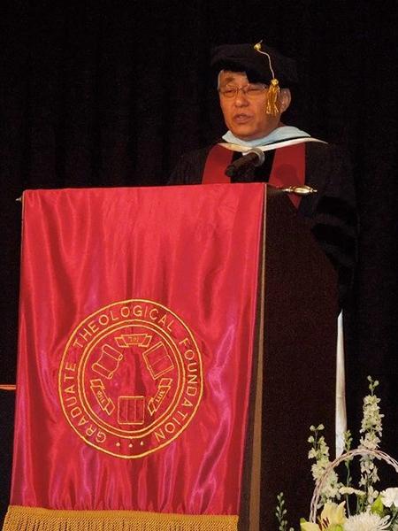 名誉学位授与スピーチ<br />