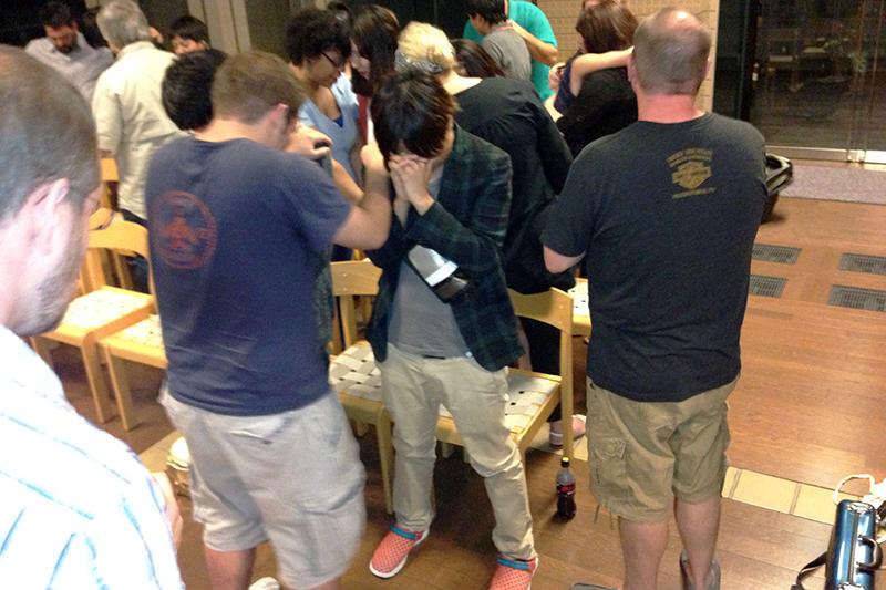 ナッシュビルからの愛に触れられて(23)ゴスペル合宿で学生たちが自ら祈ることを決心! 青木保憲