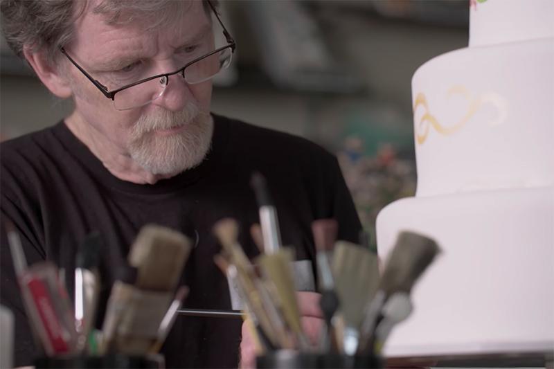 ジャック・フィリップスさん(写真:フィリップスさんが経営する「マスターピース・ケーキ店」の動画より)