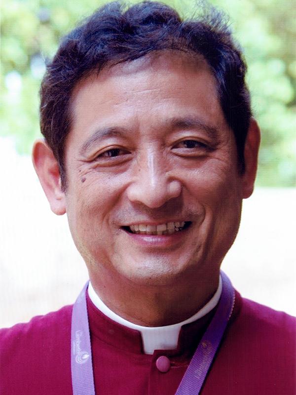 世界宗教者平和会議(WCRP)日本委員会の新理事長に就任した日本聖公会の植松誠首座主教(写真:WCRP日本委)