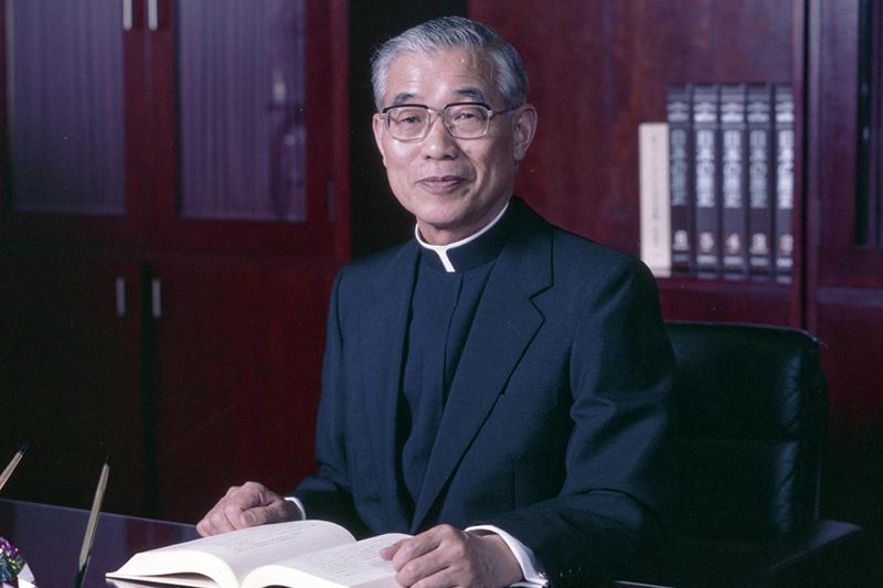 上智大学元学長の土田將雄(つちだ・まさお)同大名誉教授(写真:同大提供)