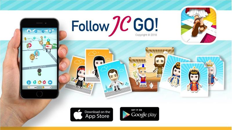 無料ゲームアプリ「フォローJC・GO!」