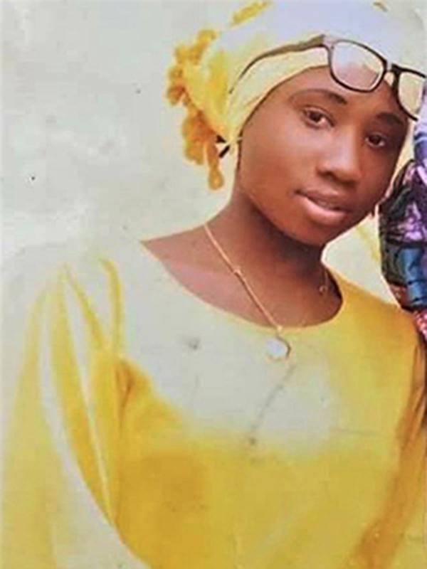 ボコ・ハラムにより、今年2月19日にナイジェリアで拉致された女子生徒110人のうち、現在も唯一拘束されているレア・シャリブさん(写真:世界福音同盟=WEA)<br />