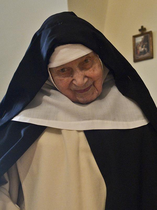 110歳で亡くなったシスター・セシリア・マリア・ローザック(写真:クラクフ大司教区)<br />