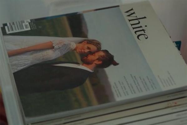 廃刊を発表したオーストラリアのウエディング雑誌「ホワイト・マガジン」(写真:同誌公式サイトの動画より)<br />