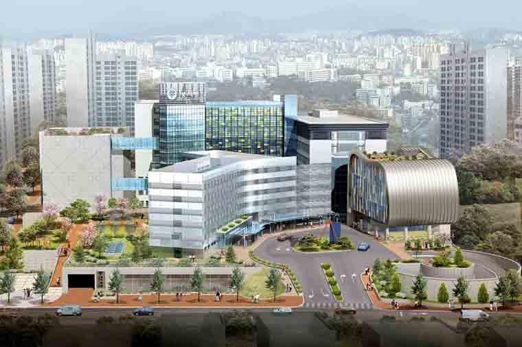 明知(ミョンジ)病院の全景(画像:同病院のウェブサイトより)<br />