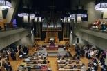 大宮理事長「聖書の言葉は永遠に響き続ける命の言葉」 日本聖書協会クリスマス礼拝