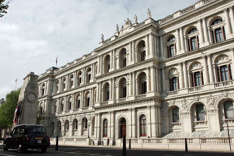 英国の外務・英連邦省本庁舎(写真:英国政府)