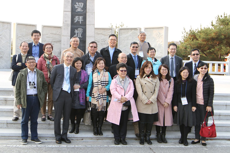 台湾とシンガポール(中国の病院代表)からの参加者<br />
