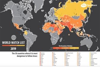 迫害がひどい50カ国発表 北朝鮮18年連続1位、インドが初のワースト10入り