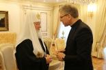 WCC総幹事、ロシア正教会トップと会談 「正教会間の和解と癒やしを祈る」