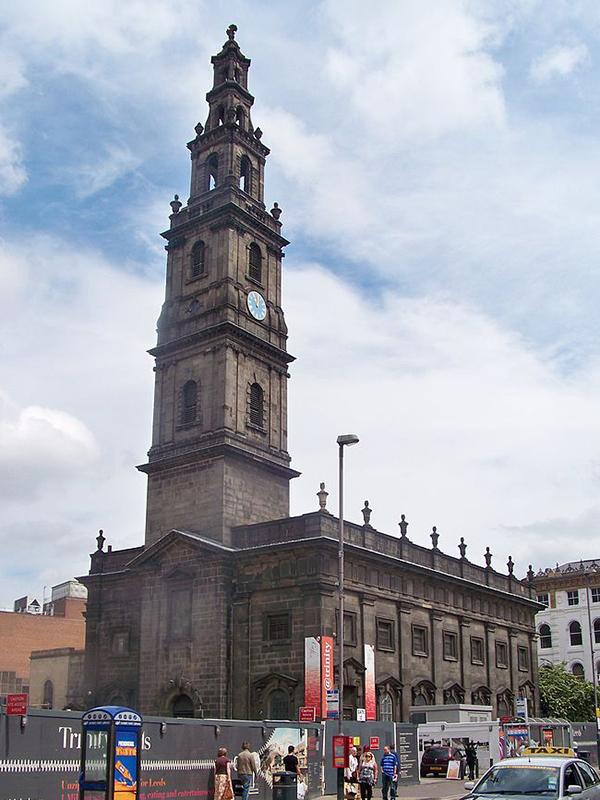 平日のみ礼拝を行う「平日教会」として利用されることになる英イングランド北部の都市リーズにあるホーリー・トリニティー教会(写真:Mtaylor848)