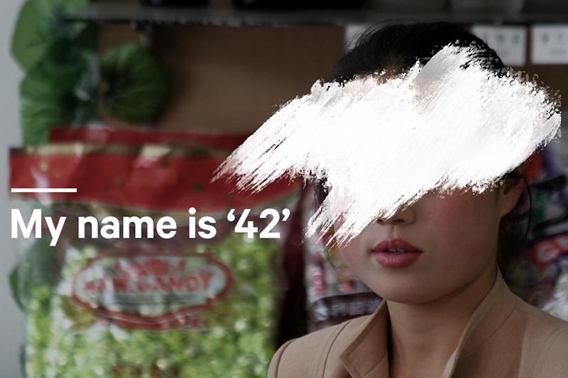 米国オープン・ドアーズのサイトに証しを掲載した北朝鮮出身の女性(写真:米国オープン・ドアーズ)