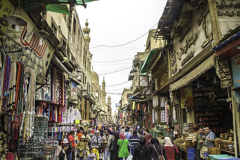 エジプトの首都カイロの旧市街地にあるイスラム地区内の様子。イスラム教の寺院や神学校が多数あり、「カイロ歴史地区」(旧称「イスラム都市カイロ」)として、世界文化遺産にも登録されている。※ 写真はイメージで、記事の内容とは直接関係ありません。(写真:Omar Attallah)