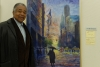 クリスチャン画家のダニー・リーさん、こうべ市民美術展で受賞