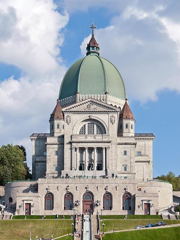 事件があったカナダ東部モントリオールの聖ジョセフ礼拝堂(写真:Paolo Costa Baldi)
