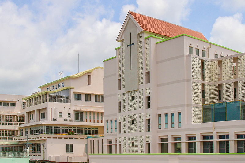 オリブ山病院(写真:同病院提供)