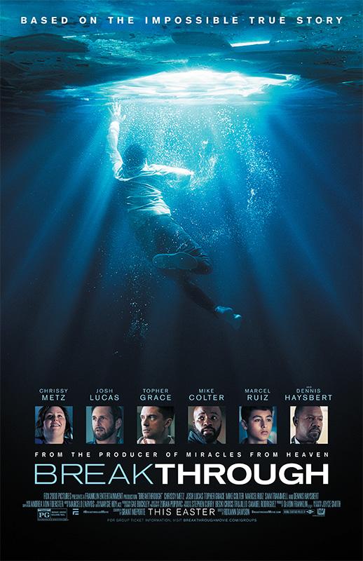 映画「ブレイクスルー」の公式ポスター