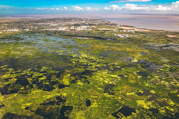 サイクロン「アイダイ」の直撃を受けたモザンピーク第2の港湾都市ベイラ(写真:ハンガーゼロ)