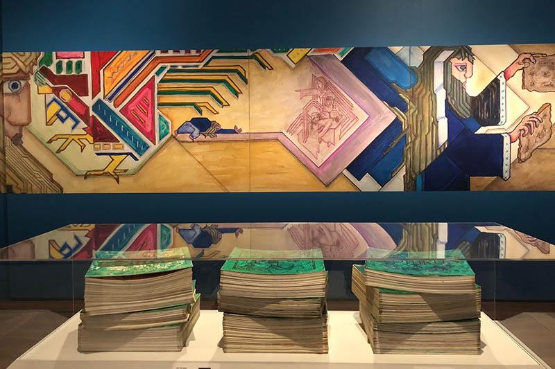 長さ約1・6キロ、世界一長い絵画聖書「ウィードマン聖書」 米ワシントンで公開へ