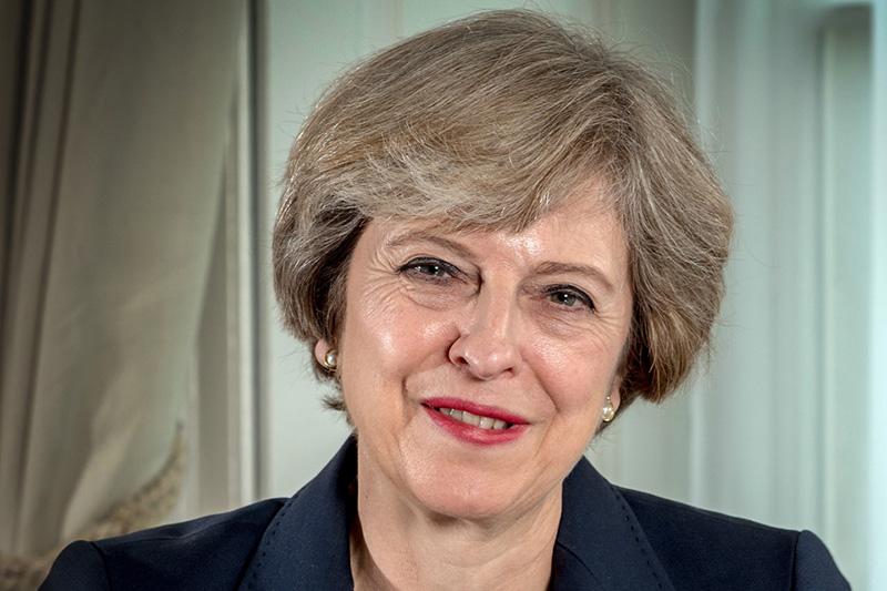 英国のテリーザ・メイ首相(写真:英政府)