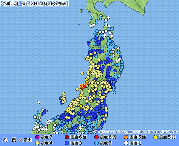 新潟・山形地震 一部の教会でイエス像倒れ破損する被害、付属幼稚園などは通常通り
