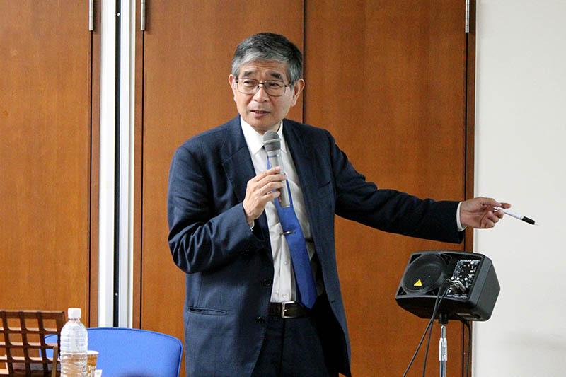 「教会の役割は大きい」 ジーザス・ジューン・フェスティバルで「がん哲学外来」の樋野興夫氏が講演