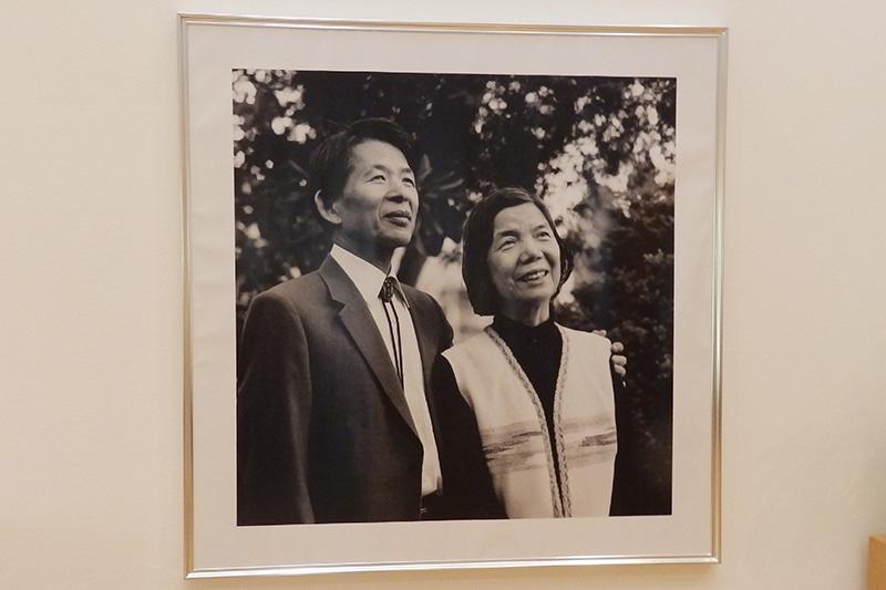三浦綾子記念文学館のパネル写真