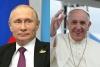 プーチン露大統領、バチカンで教皇と会談