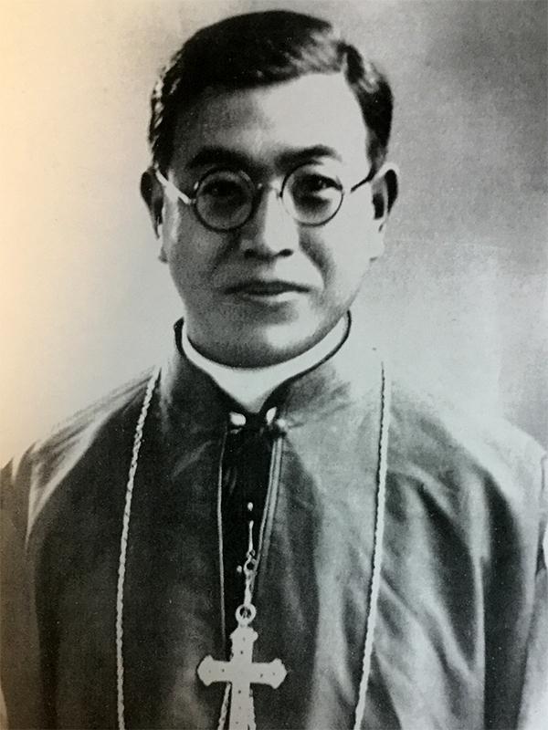 戸田帯刀神父(写真:佐々木宏人氏提供)