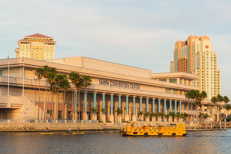 ルーテル教会ミズーリ・シノドの第67回定期総会が開かれた米フロリダ州のタンパ・コンベンション・センター(写真:Matthew Paulson)