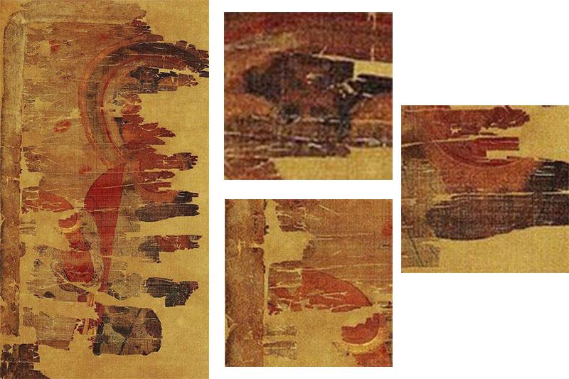 新・景教のたどった道(15)唐代中国の敦煌で発見された景教徒の壁画と古文書 川口一彦