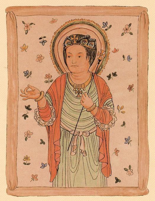 新・景教のたどった道(16)唐代中国の敦煌で発見された景教徒の壁画 ...