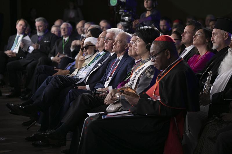 独大統領「宗教は争いを正当化するものであってはならない」 WCRP世界大会開幕、宗教者ら千人以上参加