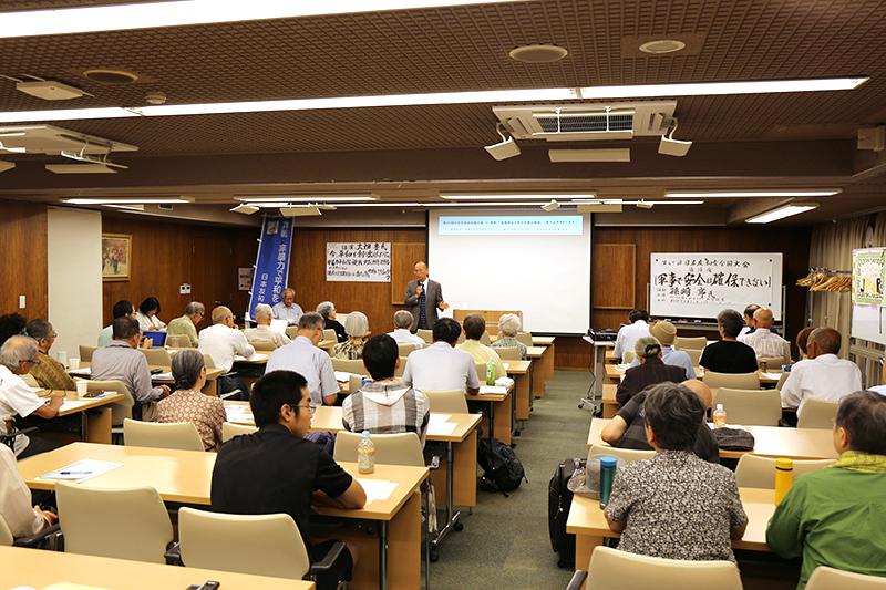 元外交官の孫崎享氏「軍事で安全は確保できない」 日本友和会全国大会