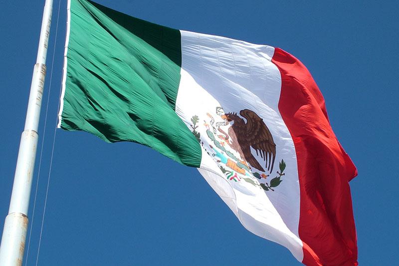 メキシコの国旗(写真:World's Direction)
