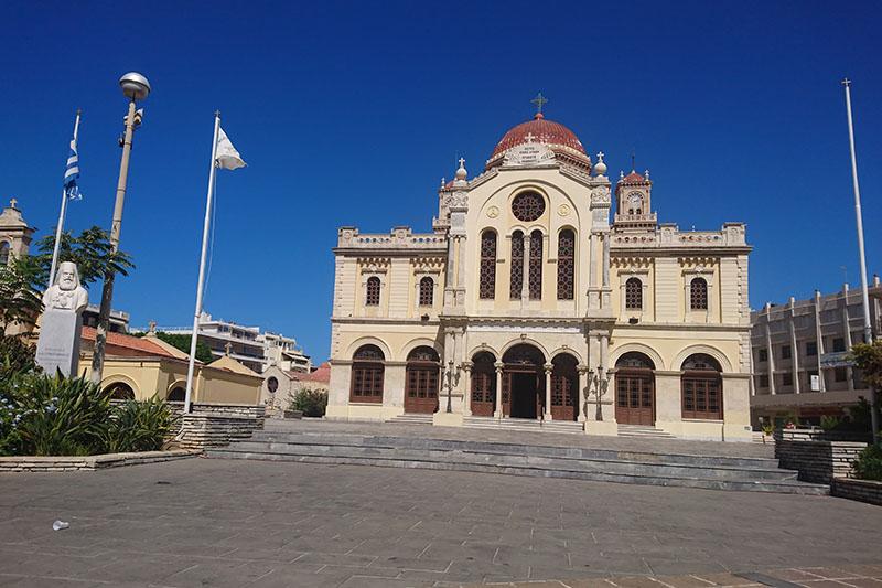 クレタ島の聖ミノス教会