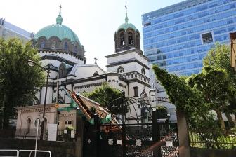 ニコライ堂の大聖堂教会事務所、台風15号で屋根飛ぶ 当面は拝観中止