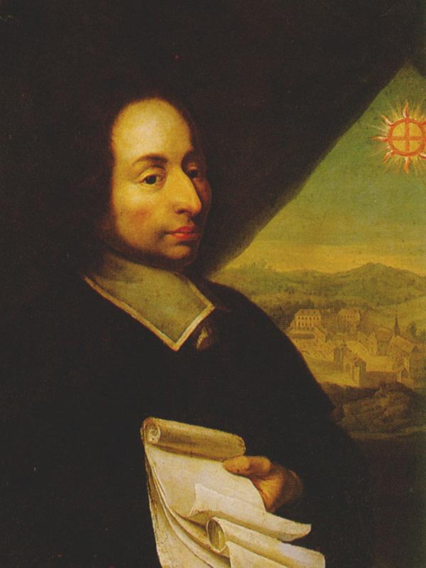 ブレーズ・パスカル(1623~62)の肖像画