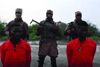 ボコ・ハラム、キリスト教徒の援助隊員2人の処刑動画公開 ナイジェリア