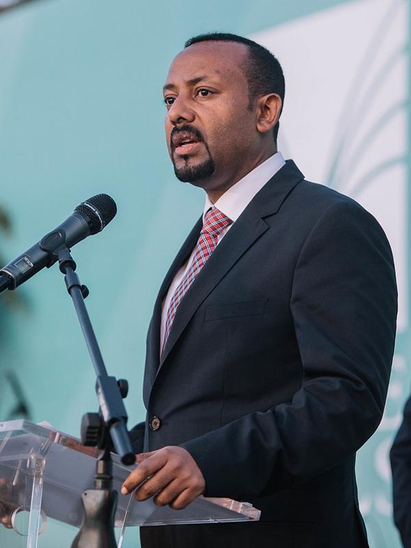 エチオピアのアビー・アハメド首相=2018年(写真:Aron Simeneh)