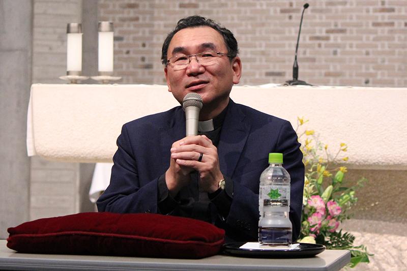 菊地功大司教「教会は神のいつくしみを示す存在でありたい」 受刑者のためのミサ