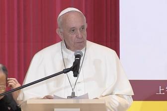 教皇、日本滞在「密度の濃いものだった」 4日間の日程終え帰国の途