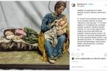 聖母マリアにも育児疲れはある? 教皇がクリスマスに「お母さんに休息を」画像