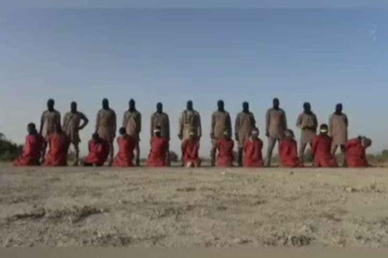 IS系勢力、キリスト教徒11人の処刑映像公開 指導者殺害への「報復」
