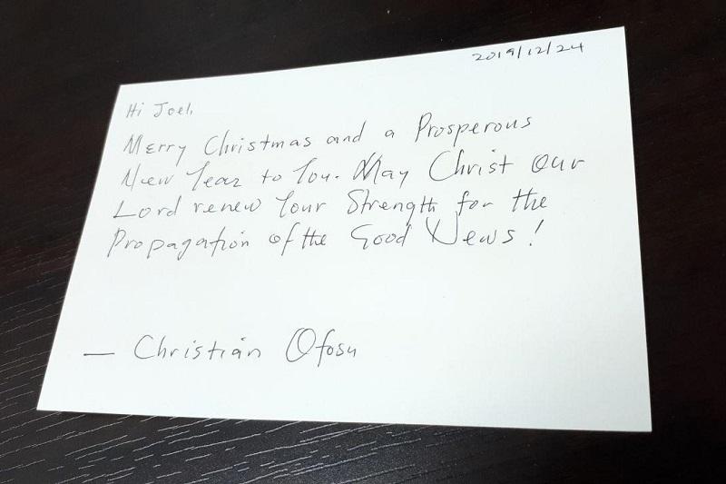 入管収容所の非欧米クリスチャンとの面会ルポ(3)牛久からの手紙